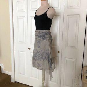 Silk Skirt By Max Studio